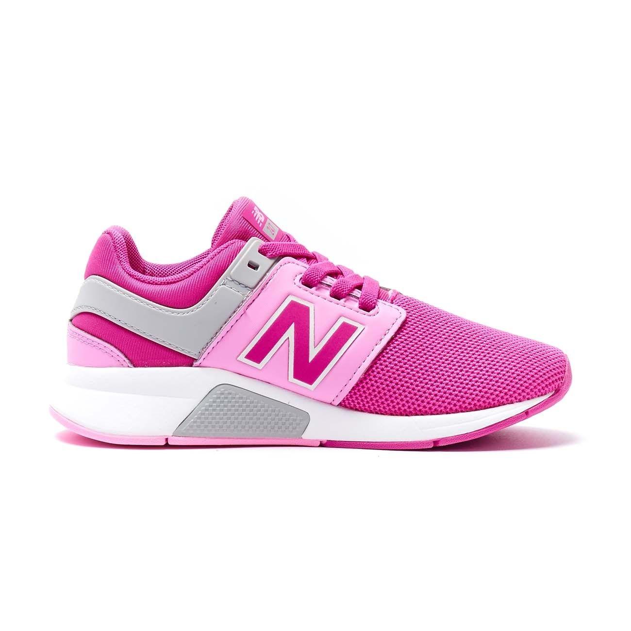 NEW BALANCE SNEAKERS 247 LIFESTYLE SYNTHETIC MESH Bambino Pink ...