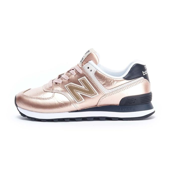 SNEAKERS 574 LIFESTYLE METALLIC Donna Rose gold 2001540380476