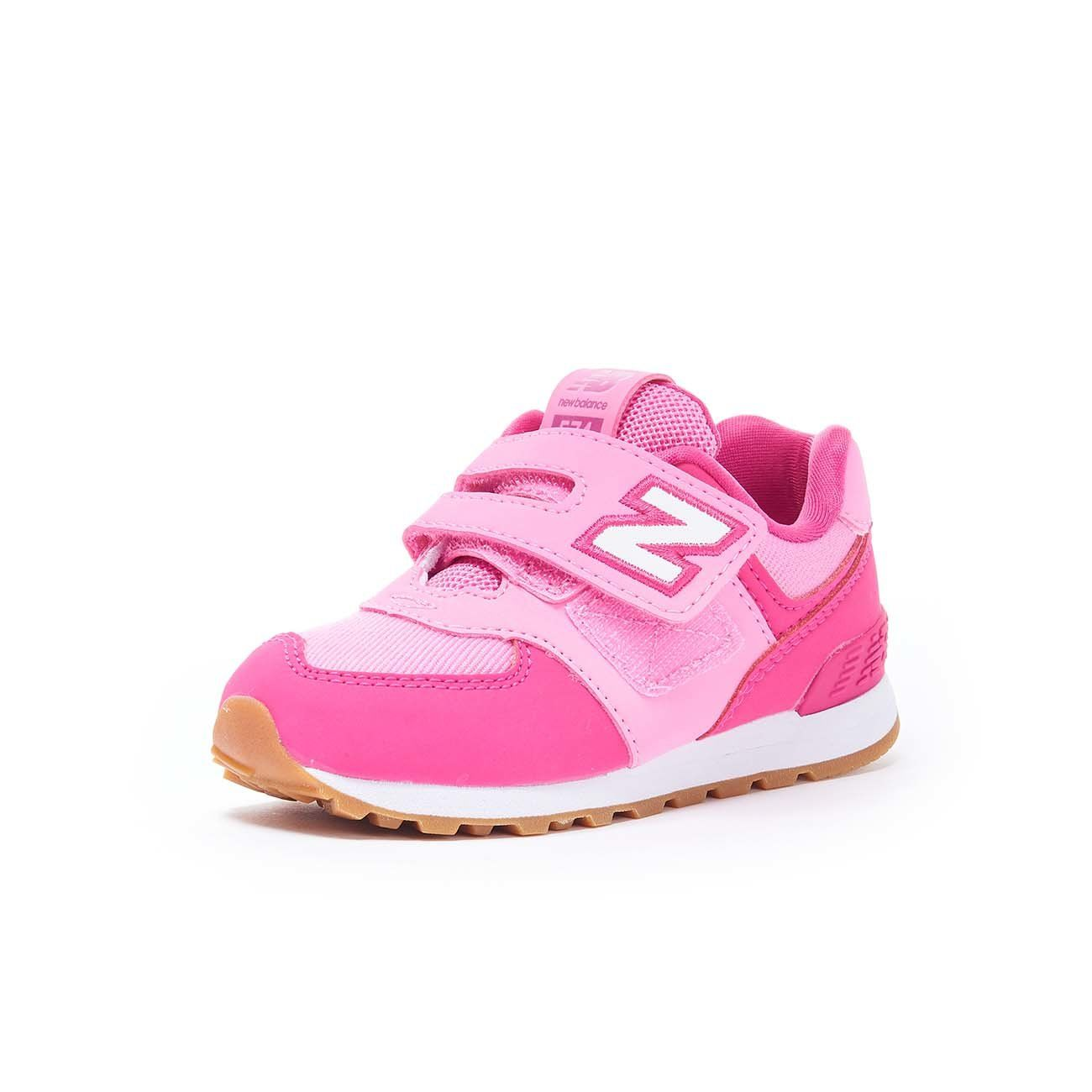 NEW BALANCE SNEAKERS 574 LIFESTYLE SYNTHETIC TEXTILE Bambina Pink ...