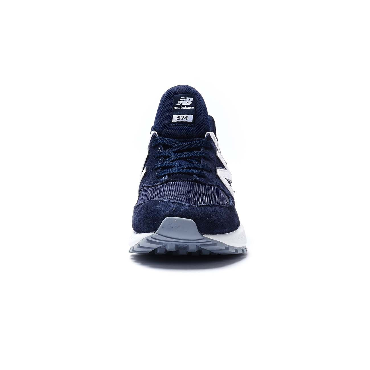 NEW BALANCE SNEAKERS 574 SPORT LIFESTYLE SUEDE MESH Uomo Navy ...