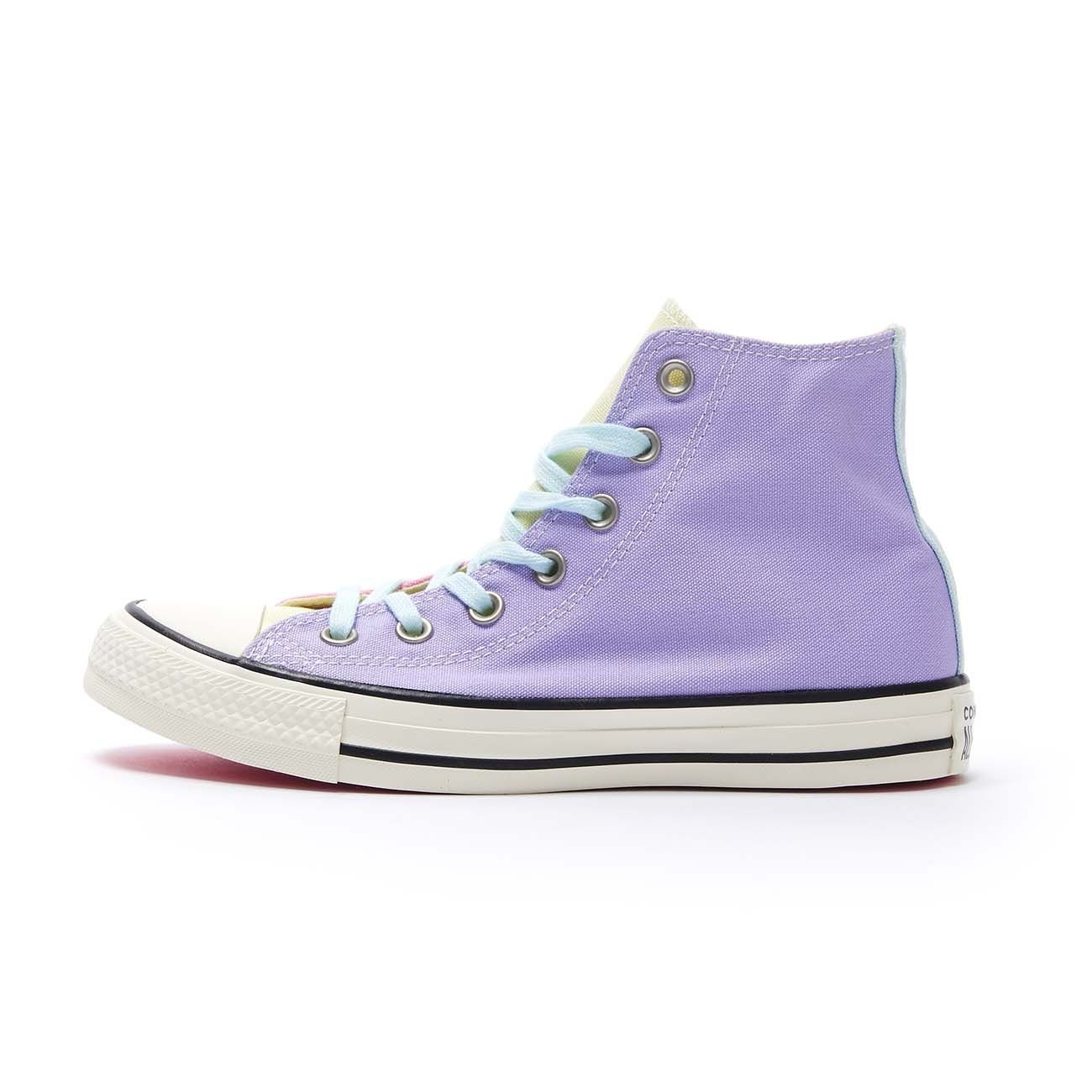 CONVERSE SNEAKERS CHUCK TAYLOR ALL STAR HI Donna Purple agate teal ...