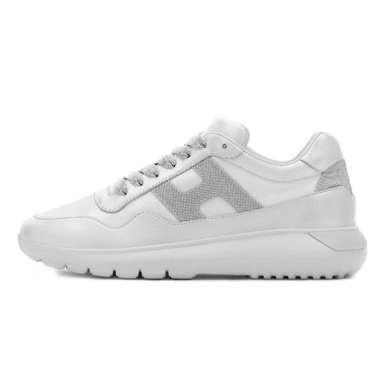 SNEAKERS INTERACTIVE 3 Donna Bianco Argento 2000646994129