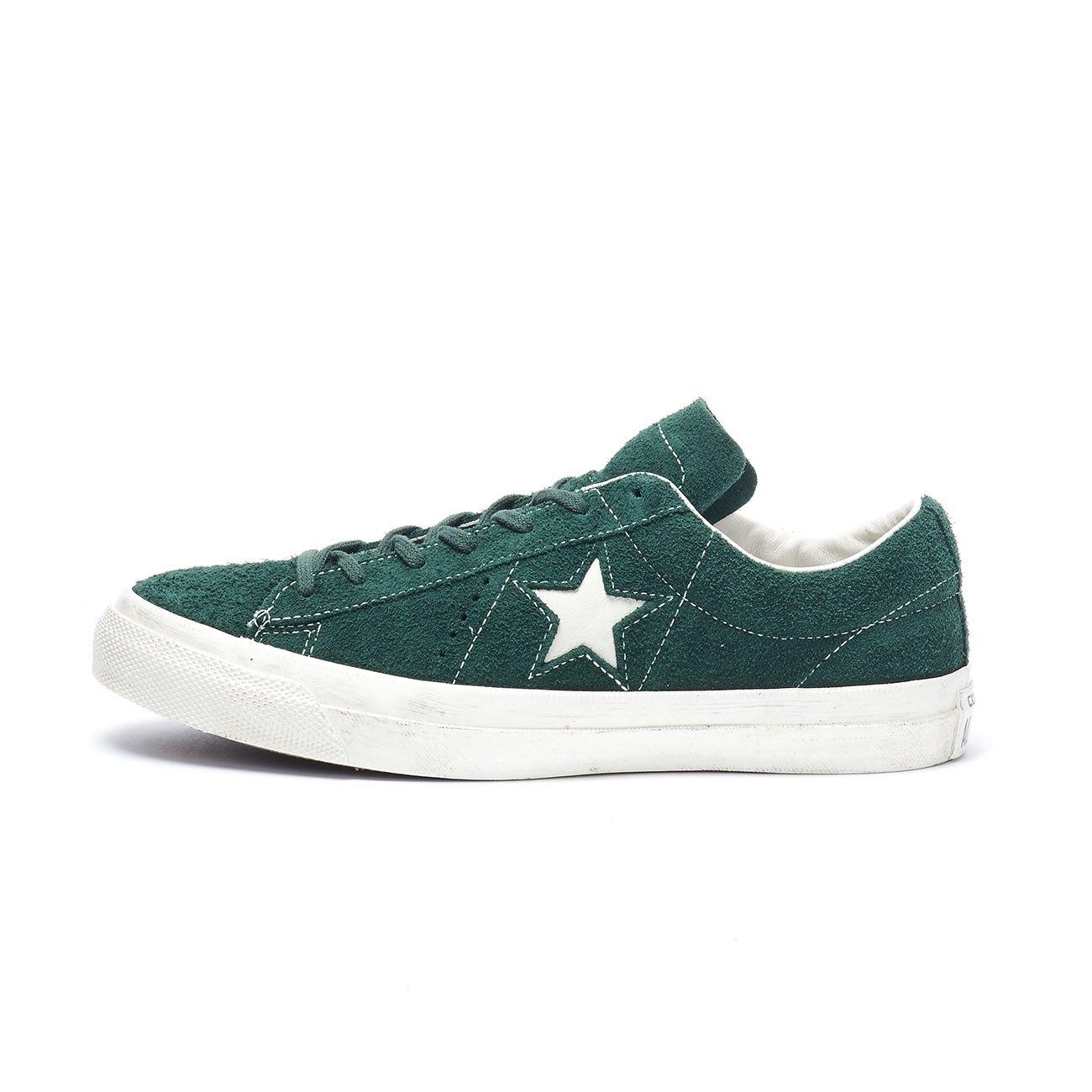 CONVERSE SNEAKERS ONE STAR OX Uomo Verde panna | Mascheroni Sportswear
